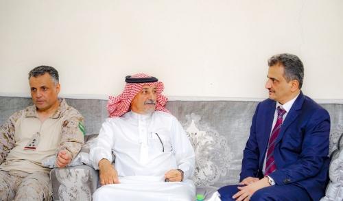 أشاد بدور المملكة..  المحافظ لملس يلتقي قائد قوات التحالف العربي بالعاصمة عدن