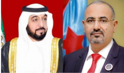 رئيس المجلس الانتقالي الجنوبي..  الرئيس الزُبيدي يهنئ القيادة الإماراتية بالعيد الوطني الـ49